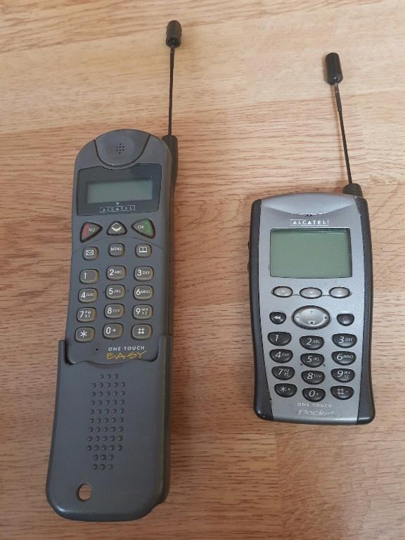 2 X Alcatel One Touch Pocket I Easy Antyki Vintage 7795315727 Oficjalne Archiwum Allegro