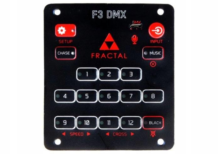Fractal FX3 kontroler DMX