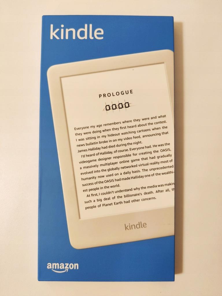 Kindle 10 - BIAŁY - 8GB - WERSJA EU - NOWY
