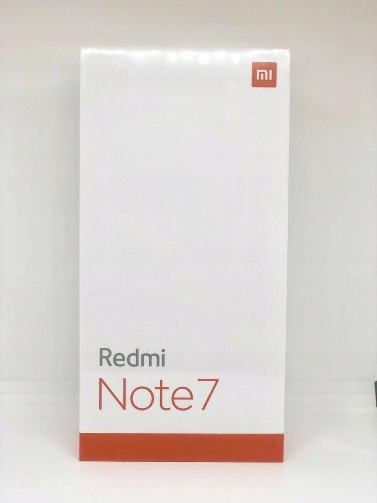Xiaomi Redmi Note 7 4/64GB Czarny