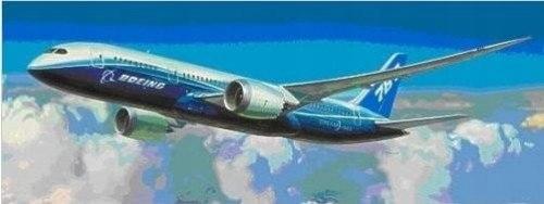 Zvezda 7008 787 Dreamliner 1/144