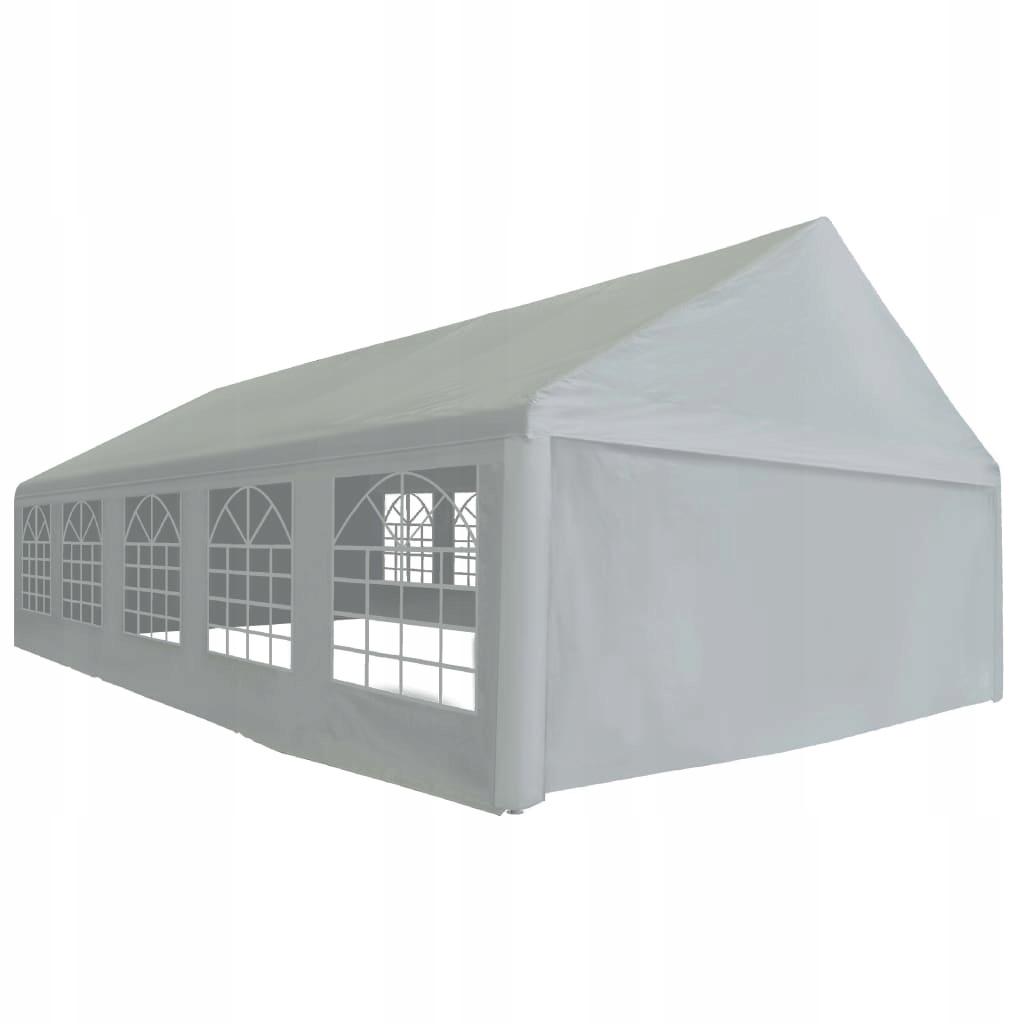 Namiot imprezowy z PE, 5 x 10 m, szary