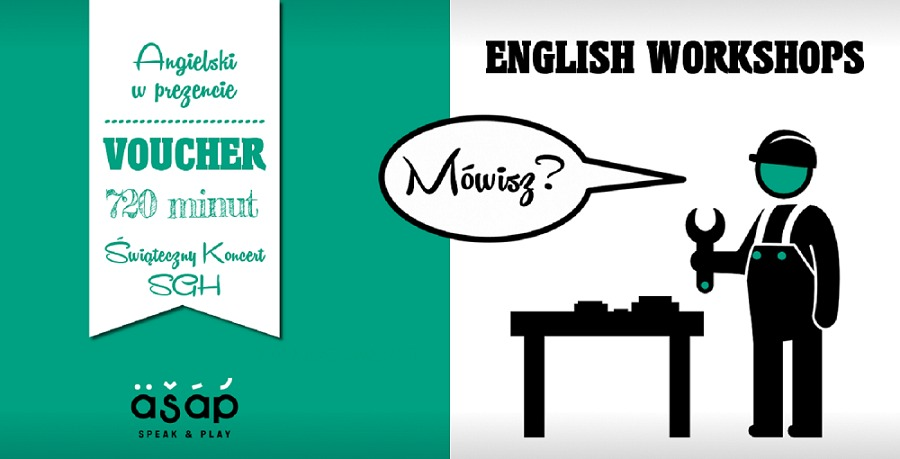 Angielski w prezencie: 720 minut English Workshops