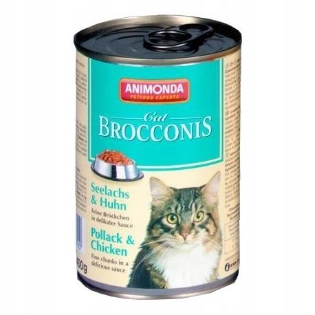 ANIMONDA Brocconis Cat puszka ryba kurczak 400 g