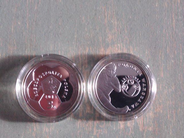 Monety srebrne 2X5zł