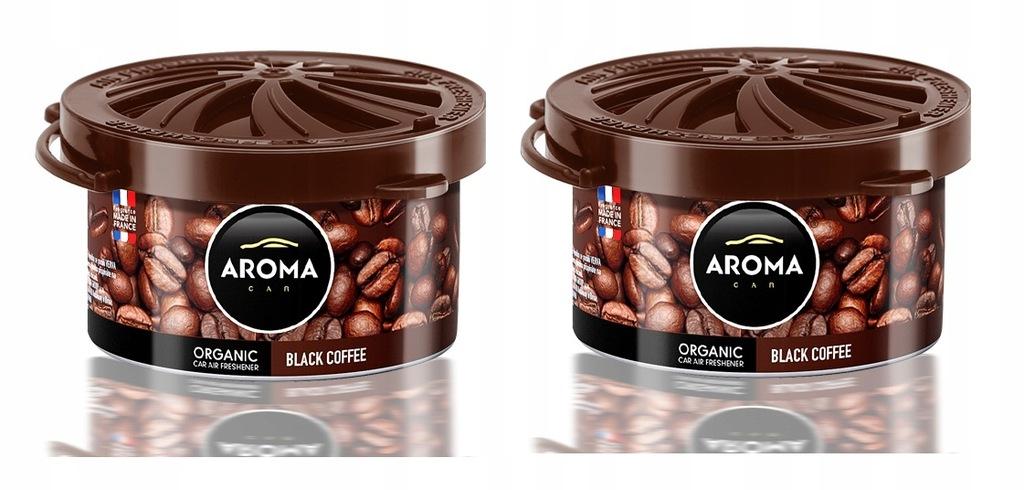 Zapach samochodowy ORGANIC AromaCar COFFEE 2 szt