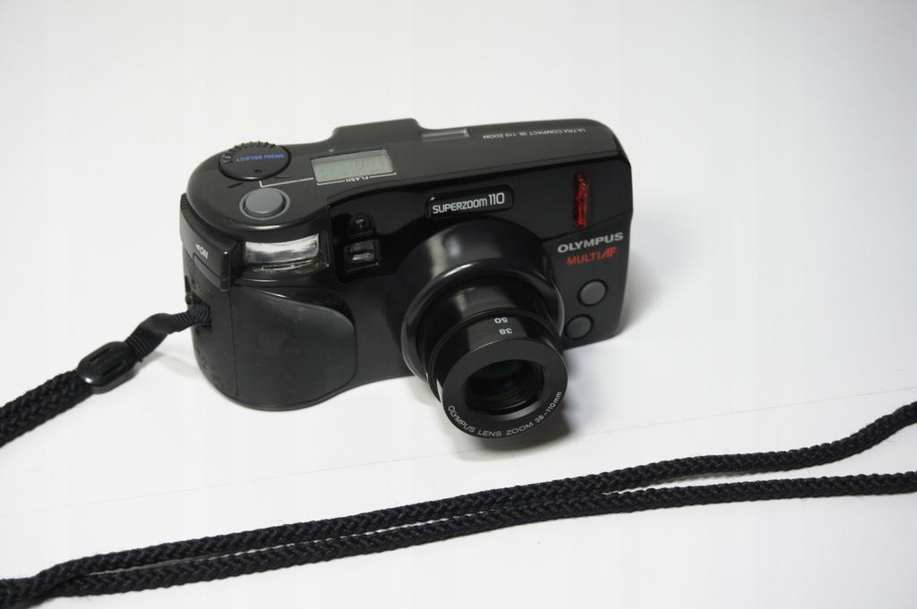 Aparat Fotograficzny Olympus Super Zoom 110