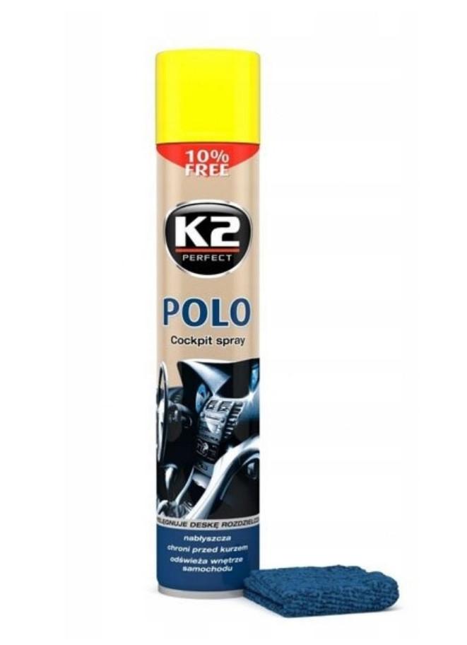 K2 POLO COCKPIT SPRAY DO KOKPITU LEMON 750ml