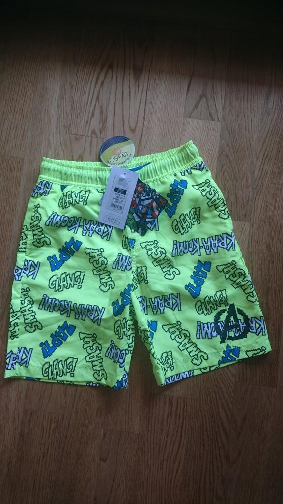super spodnie cool club avengers 128 UV+50 nowe