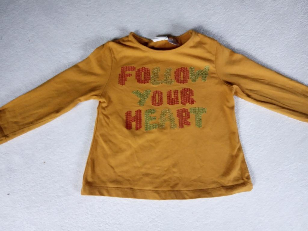 Zara koszulka CEKINY r. 86