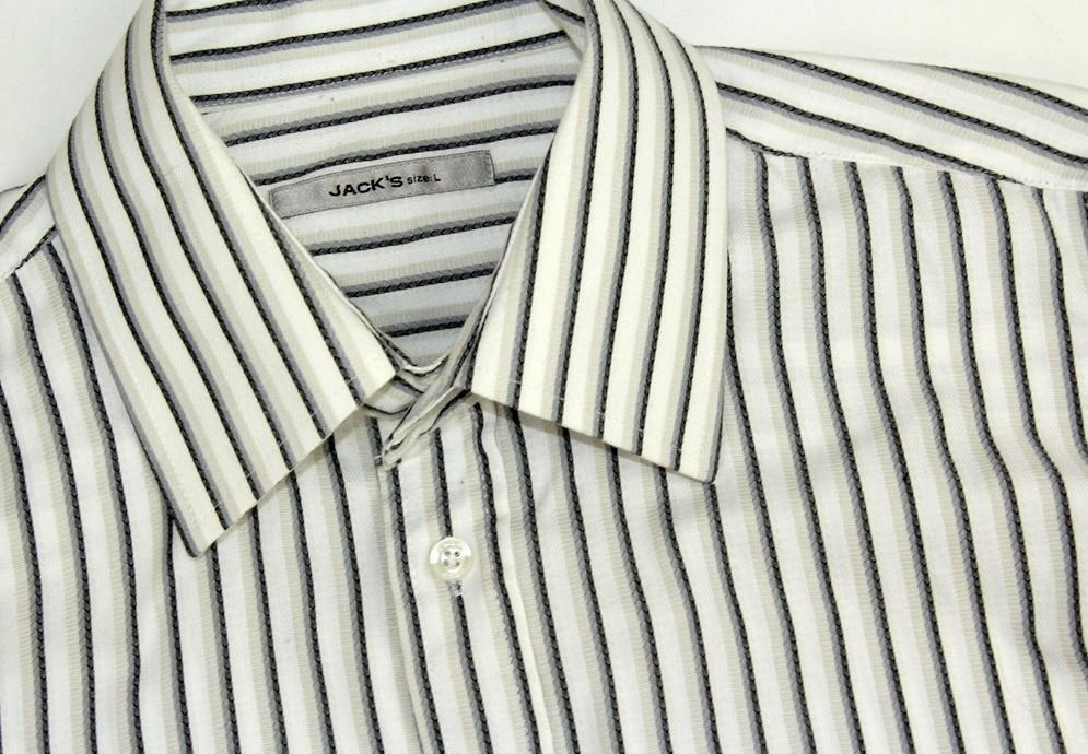2802J14 JACK'S koszula męska PRĄŻKI rozm. L 7873257070  ZxyW3