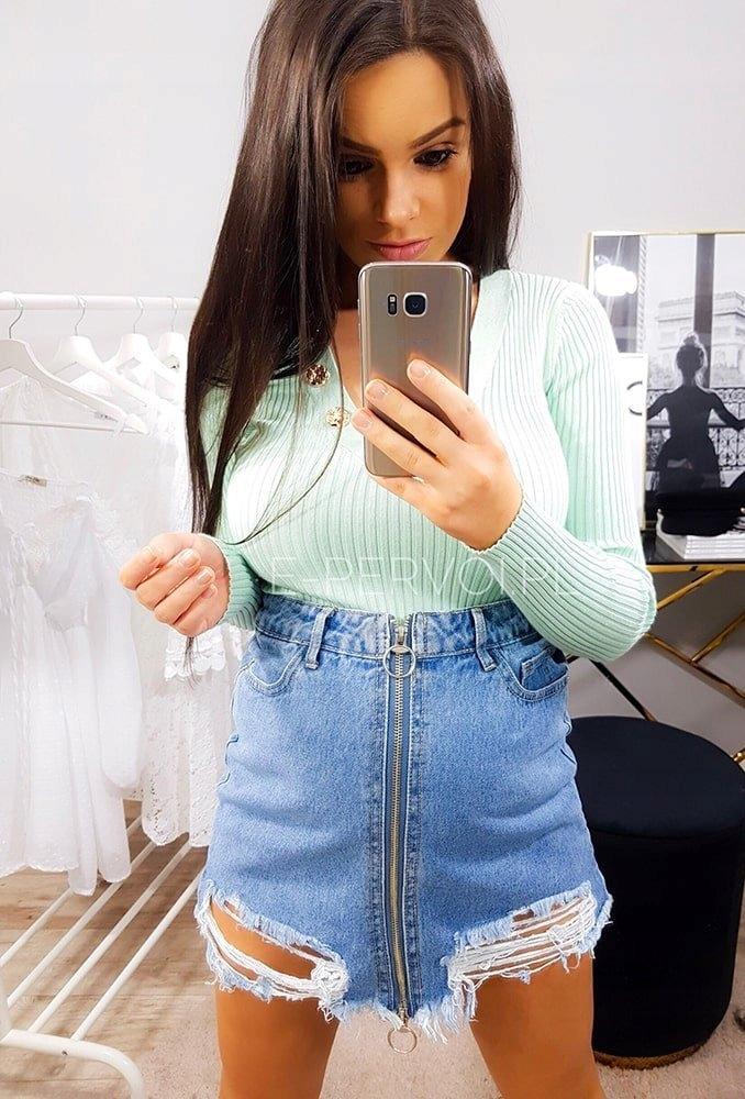 Spódnica jeansowa brooklyn