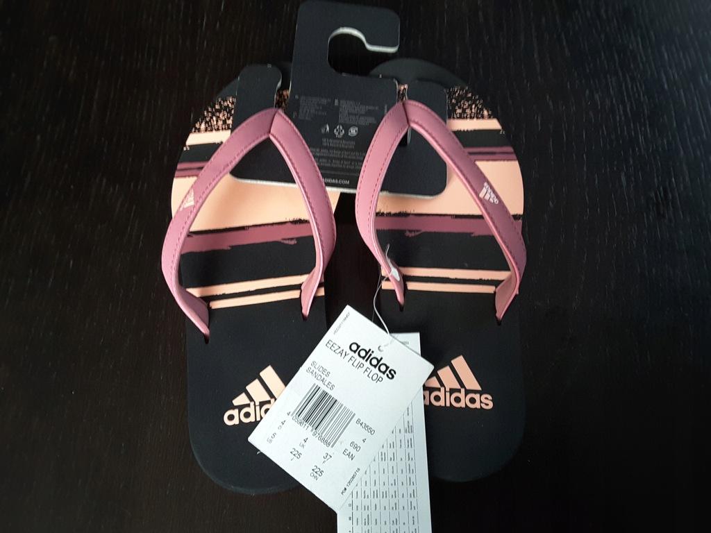 Klapki Adidas Eezay Flip Flop roz 37 -nowe