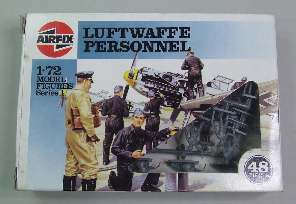 Luftwaffe IIWW Personnel Airfix 01755 1/72 NKPL