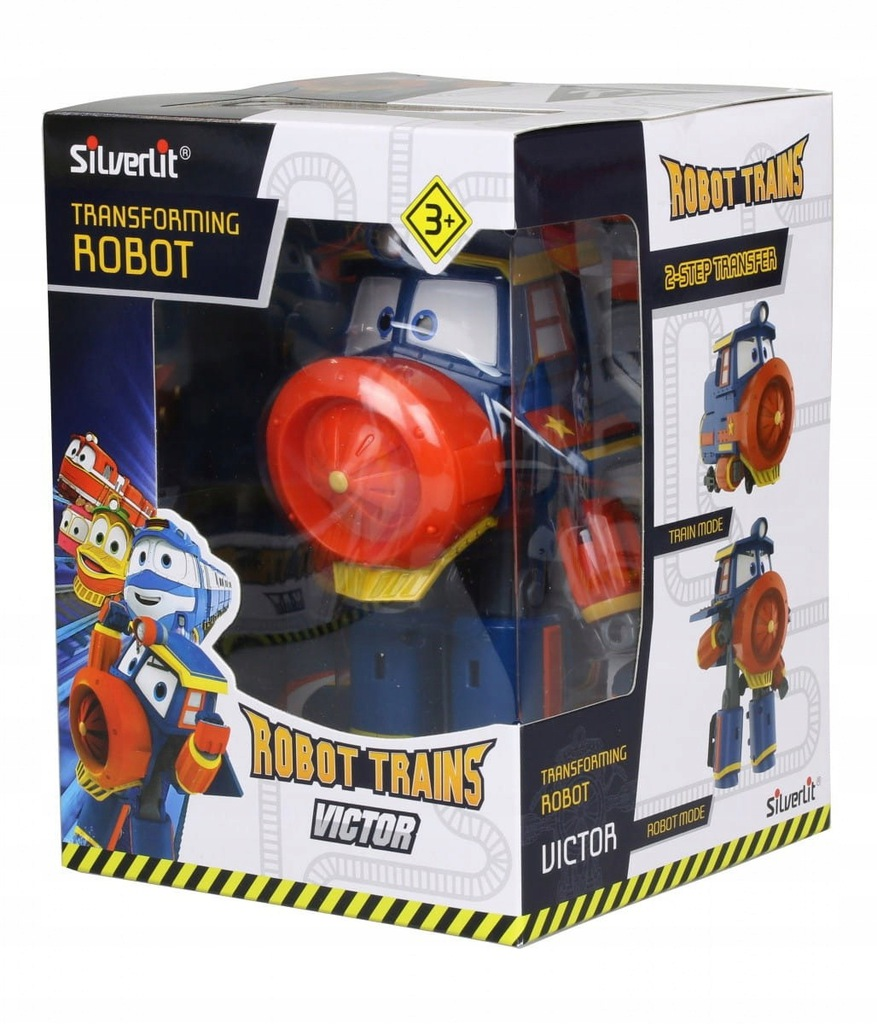 Pociąg Robot Trains Figurka Transformująca MIX /Co