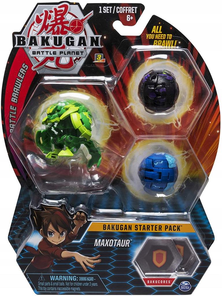Bakugan Zestaw Startowy Maxotaur