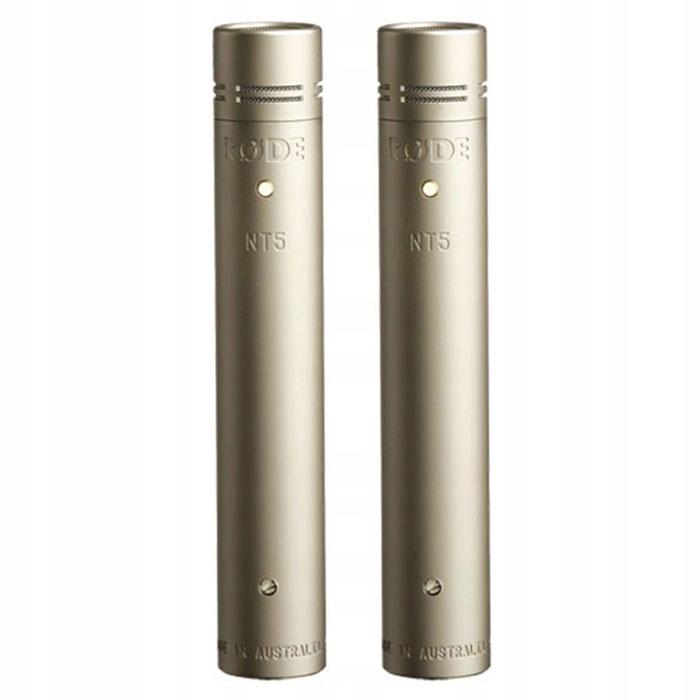 RODE NT5 PAIR: Para mikrofonów pojemnościowych