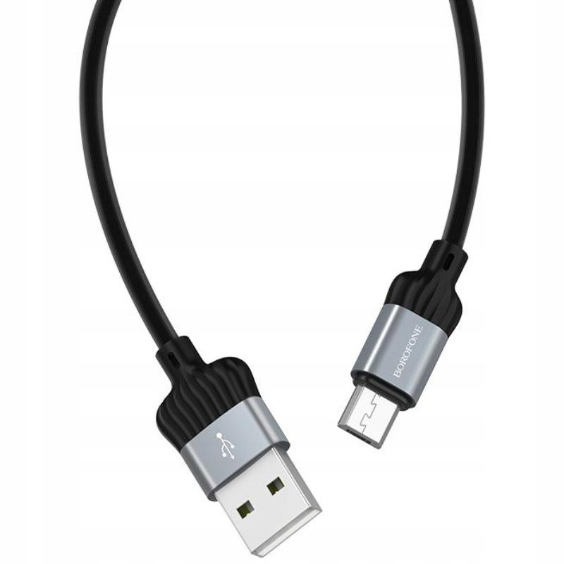 Borofone Diginity - kabel połączeniowy USB do micr
