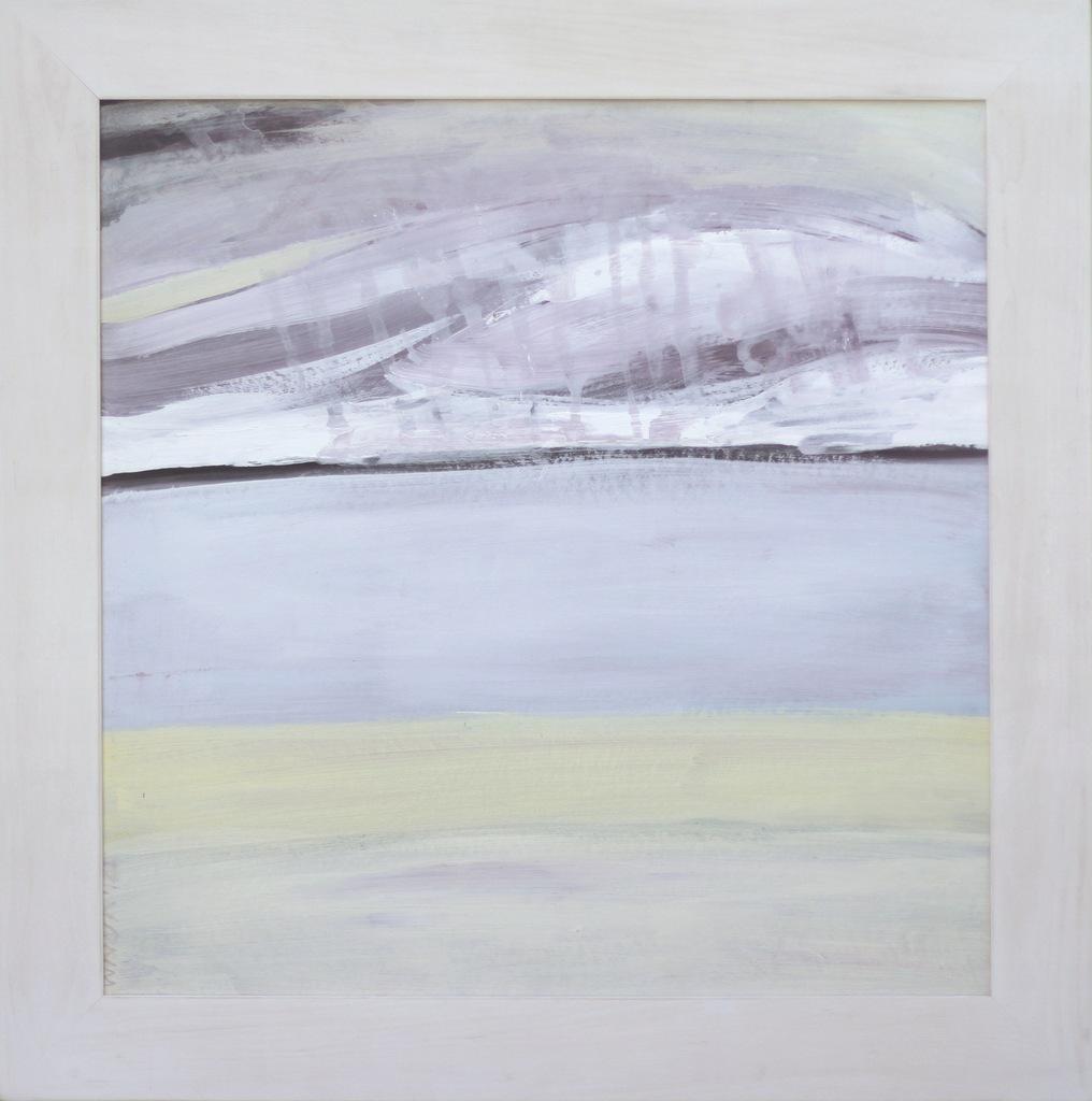 obraz pejzaż Cisza abstrakcja Lidia Wnuk ART