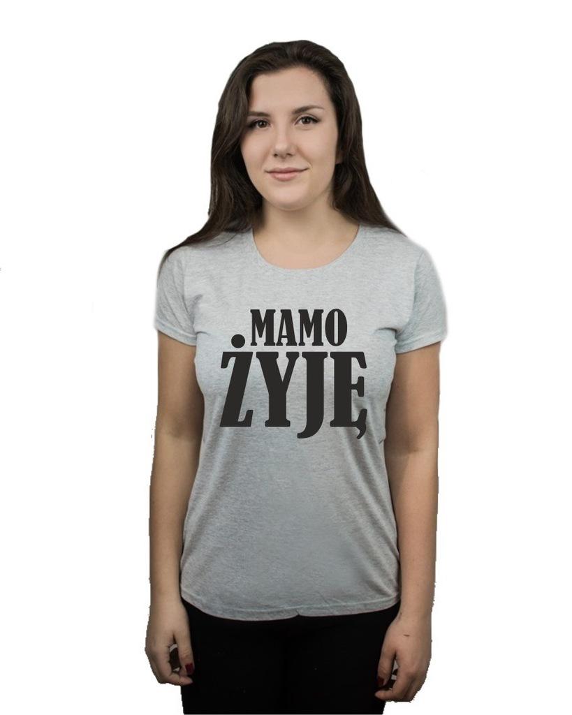 Koszulka damska MAMO ŻYJĘ FESTIWAL XL