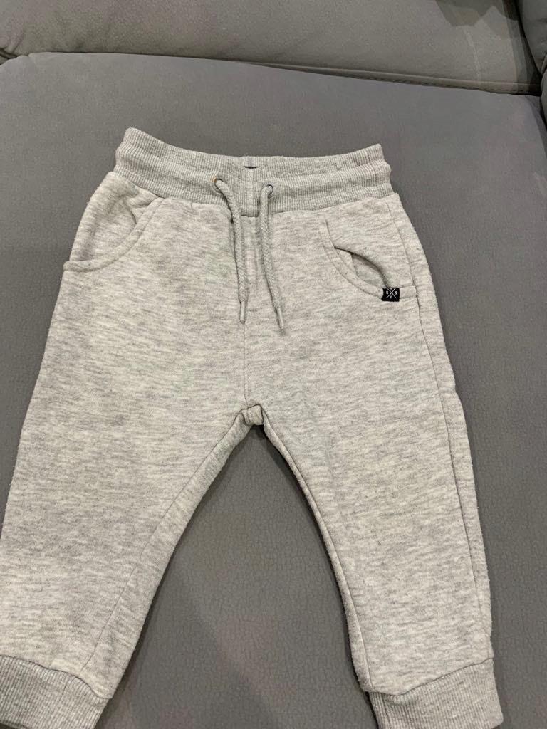 Reserved spodnie szare 80cm