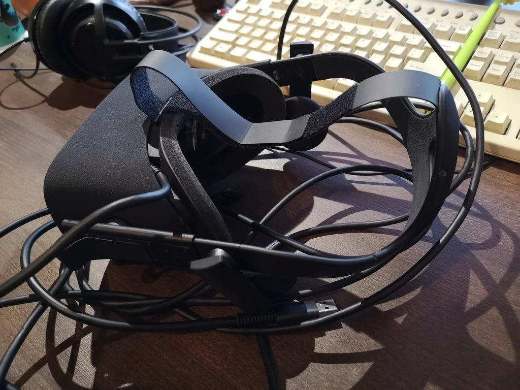 Zestaw oculus rift uszkodzony