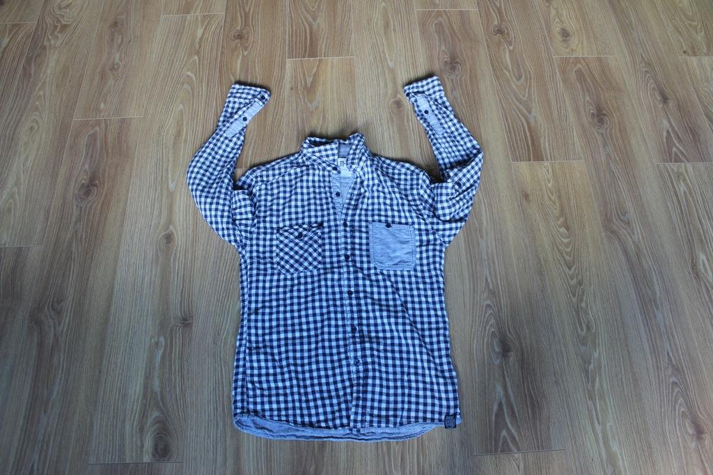 CARRY Koszula w kratkę REGULAR FIT, JAK NOWA! M