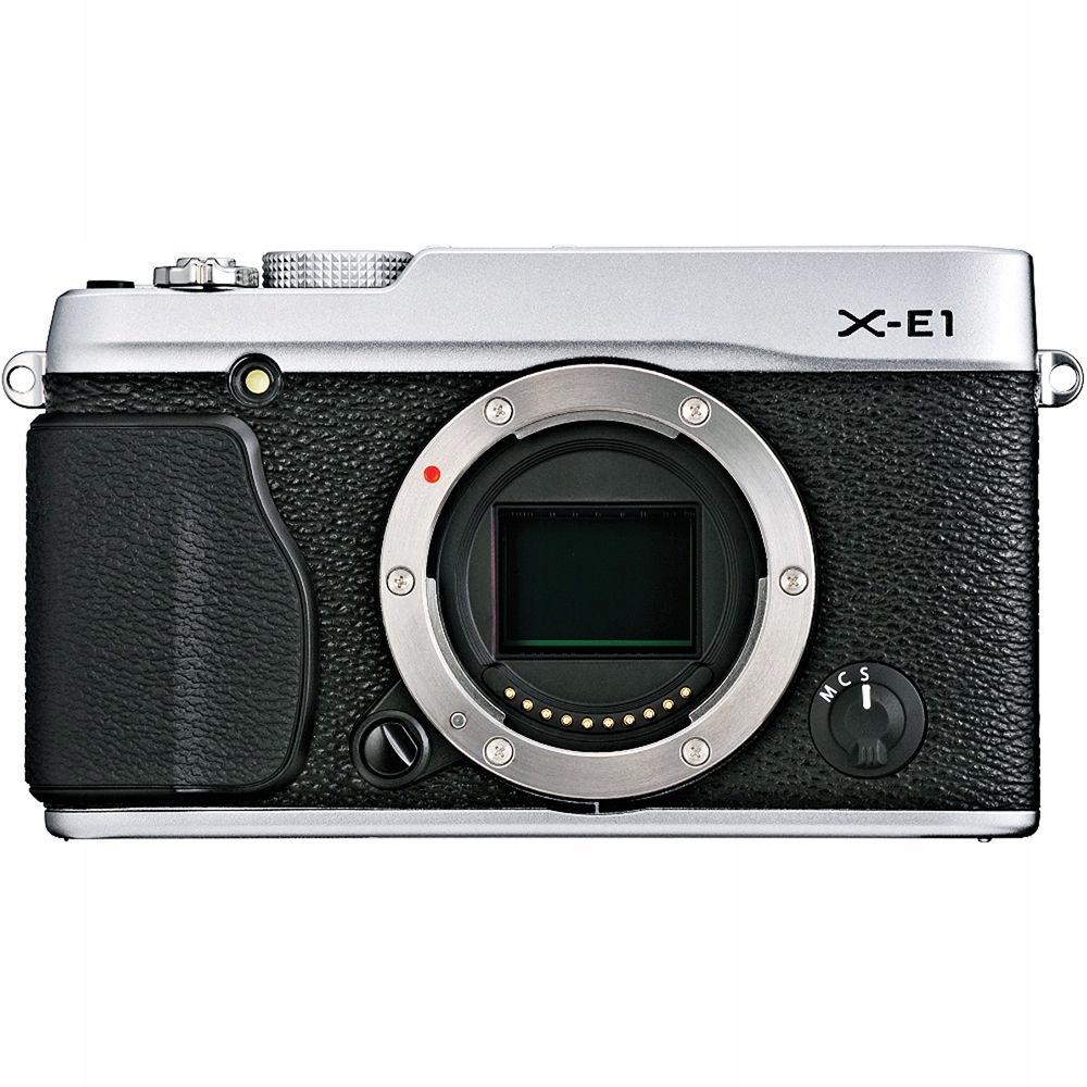 Aparat FUJIFILM X-E1 16.3Mpx Body BOX +32GB FV 23