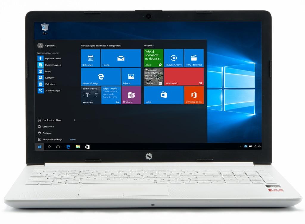 Biały - HP AMD Ryzen-3 2200U 256-SSD VEGA3 FHD W10