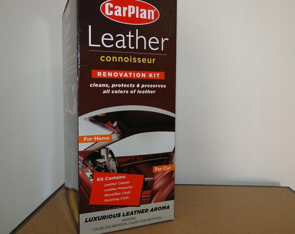 Car Plan Leather Czyszczenia RENOWACJI Konserwacji