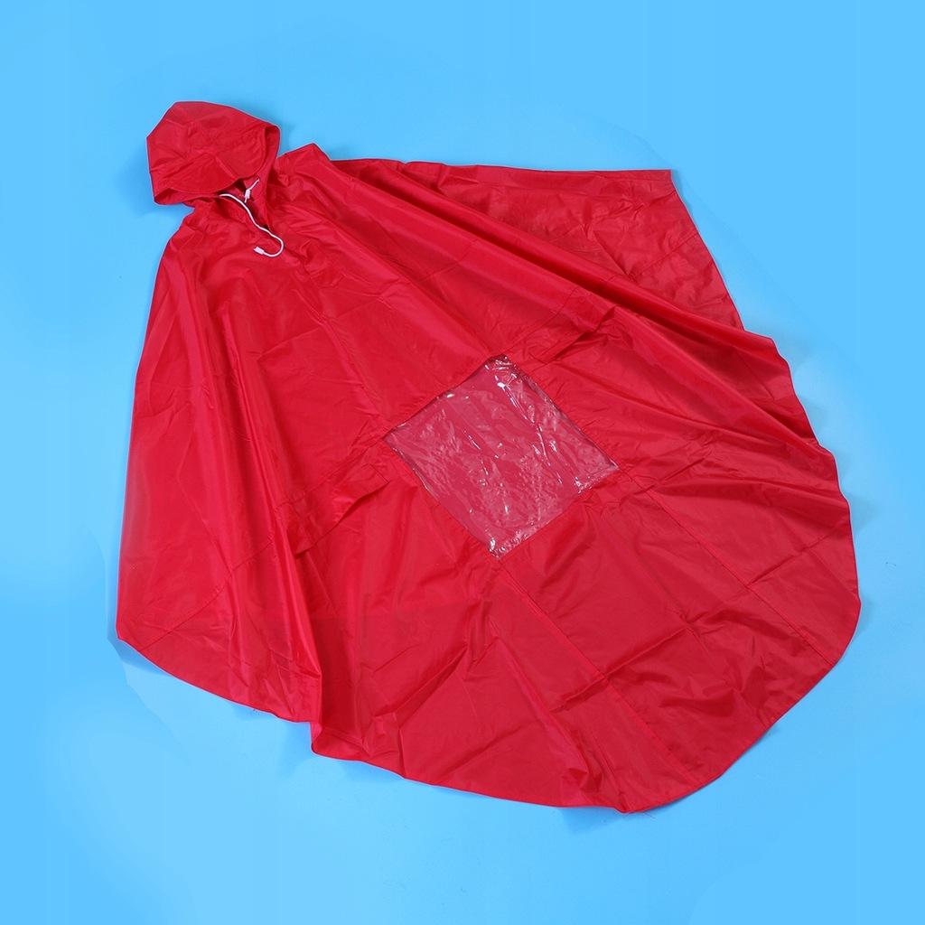 Waterproof Hooded Rain Cape Polyester Adults Rainc
