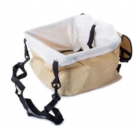 Torba transporter psa kota nosidełko 3 w1 bezowy