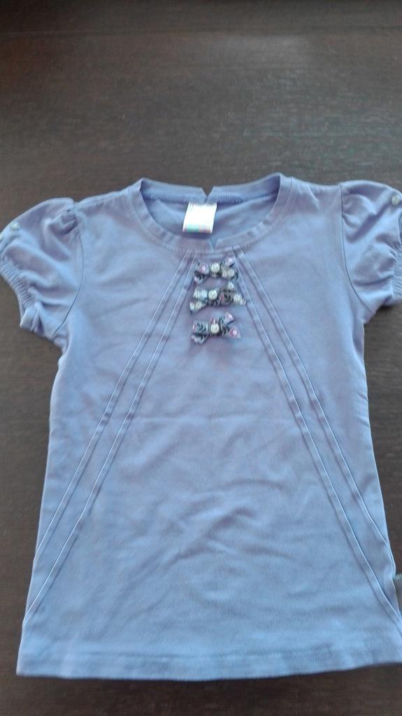 Bluzeczka fioletowa rozmiar 122 cm, COCCODRILLO