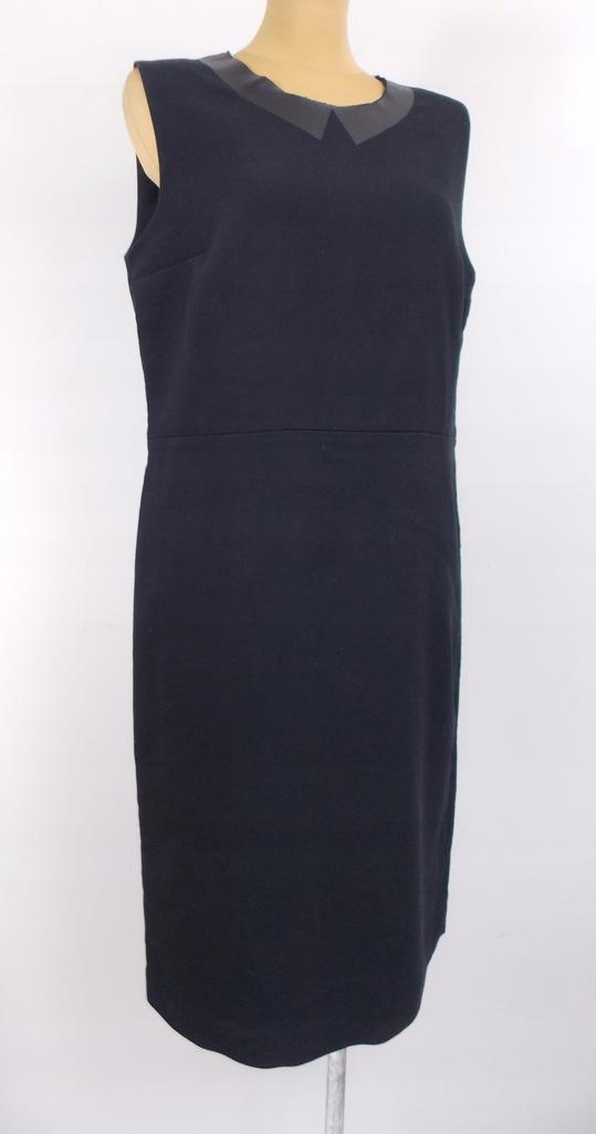 sukienka COS elegancka czarna biuro klasyczna 42