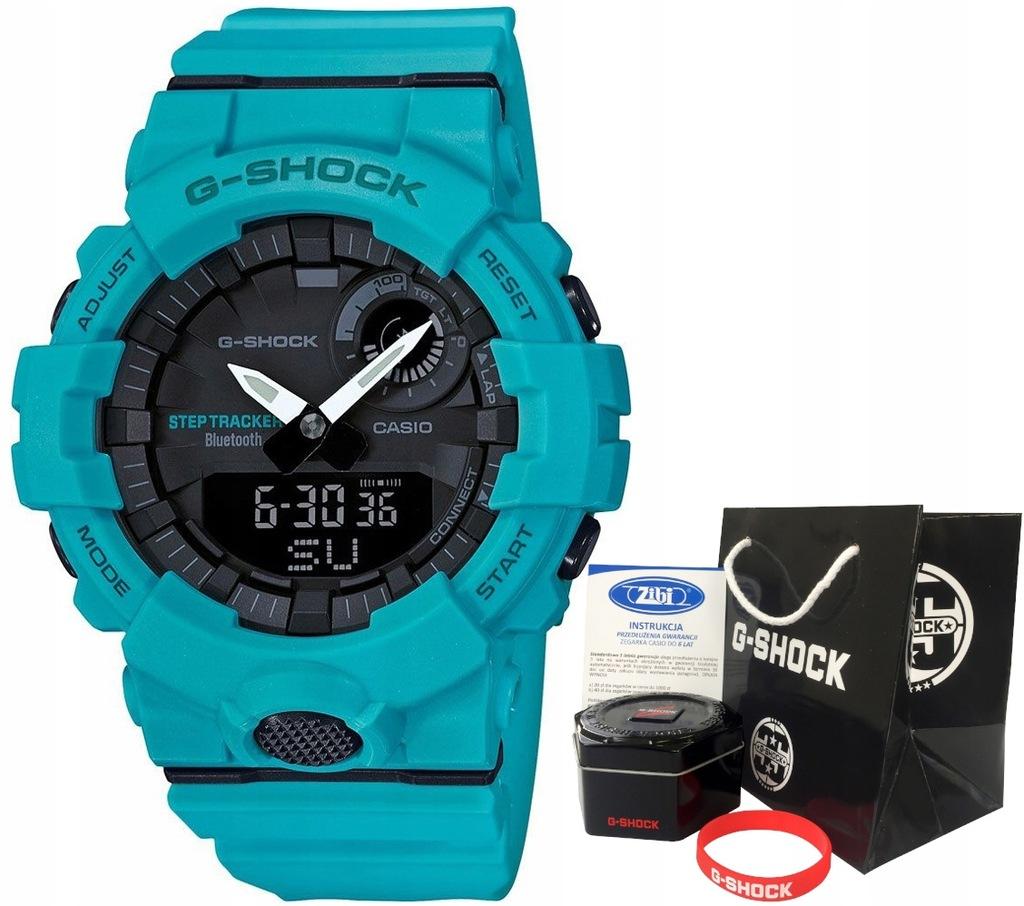 Zegarek dla chłopca Casio G-SHOCK GBA-800-2A2ER