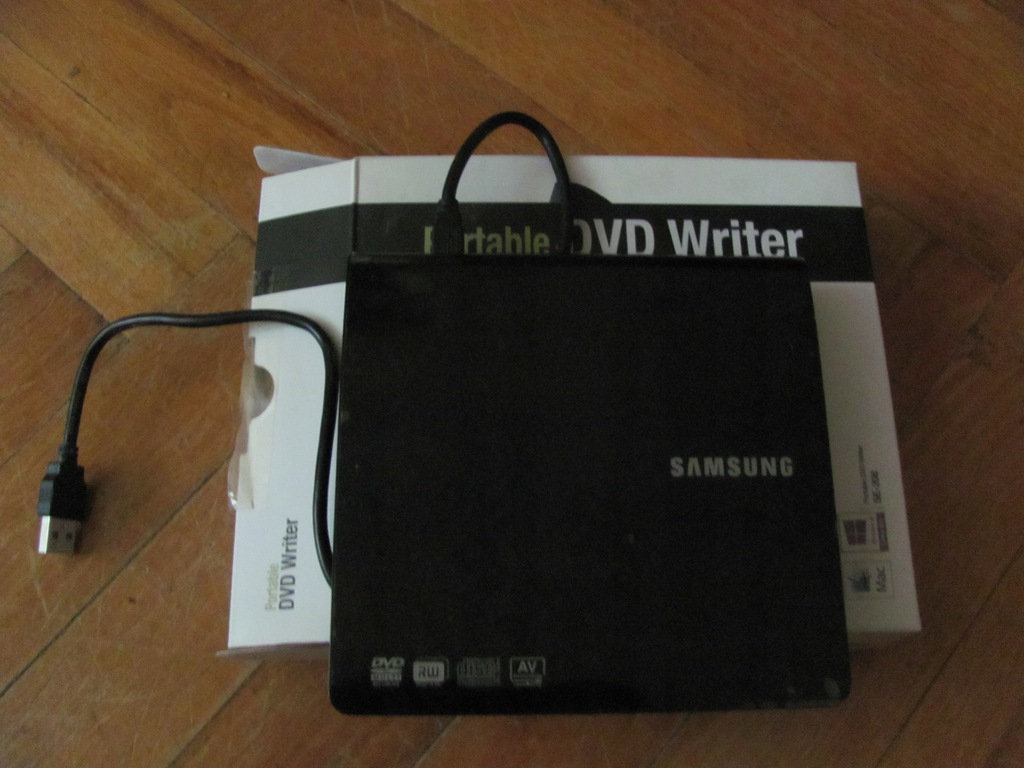 Przenośna nagrywakrka DVD SAMSUNG SE-208