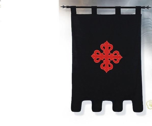 DUŻA FLAGA ZAKONU KALATRAWENSÓW MF 1528.1