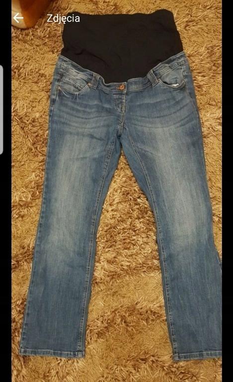C&A jeansy ciążowe 44