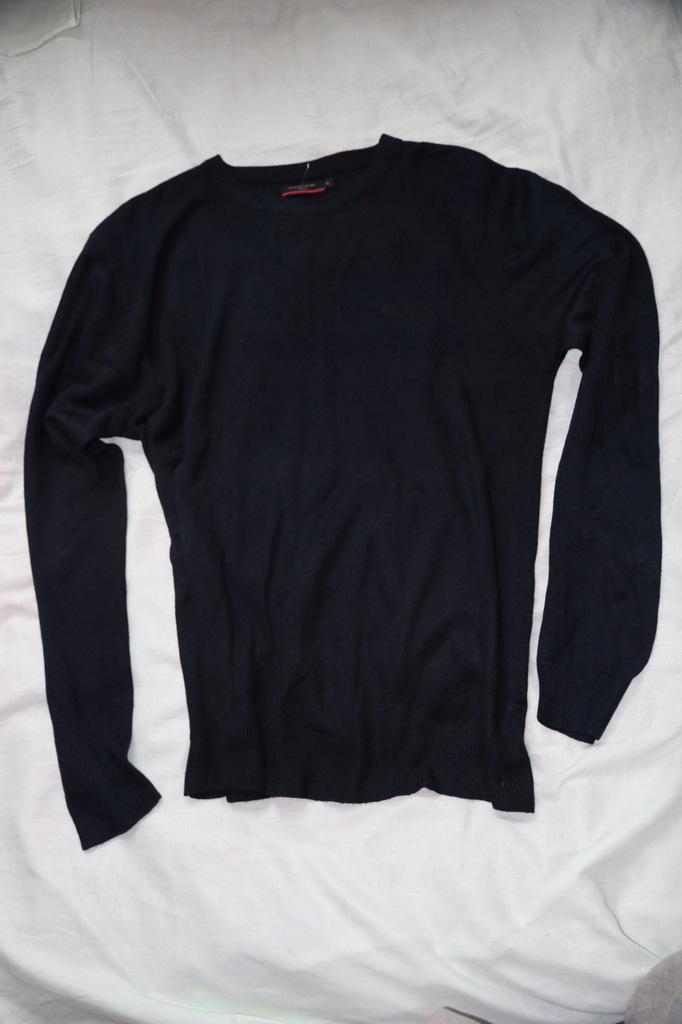 Pierre Cardin granatowy cienki sweter rozmiar XL