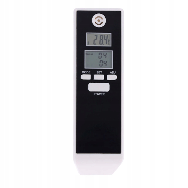 CYFROWY ALKOMAT POMIAR TERMOMETR ZEGAR STOPER LCD