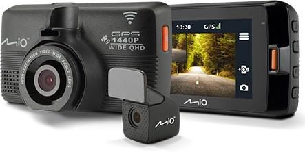 Rejestrator MIO MiVue 752 DUAL WIFI GPS 2,5K