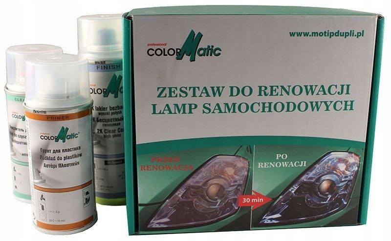 ZESTAW do RENOWACJI regeneracji LAMP MOTIP pasta