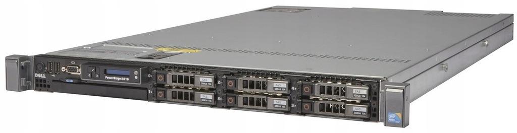 DELL R610 V2 2X4C E5620 2.4G 16GB 6X2,5 H700 2X717