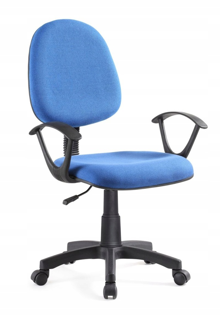 Krzesło fotel do biurka niebieski niebieskie TANIO