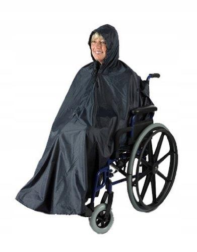 peleryna przeciwdeszczowa na wózek inwalidzki