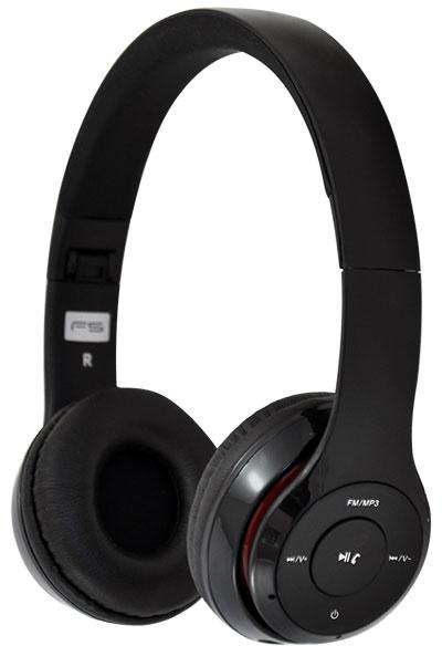 Słuchawki Bezprzewodowe Nauszne Bluetooth Radio SD