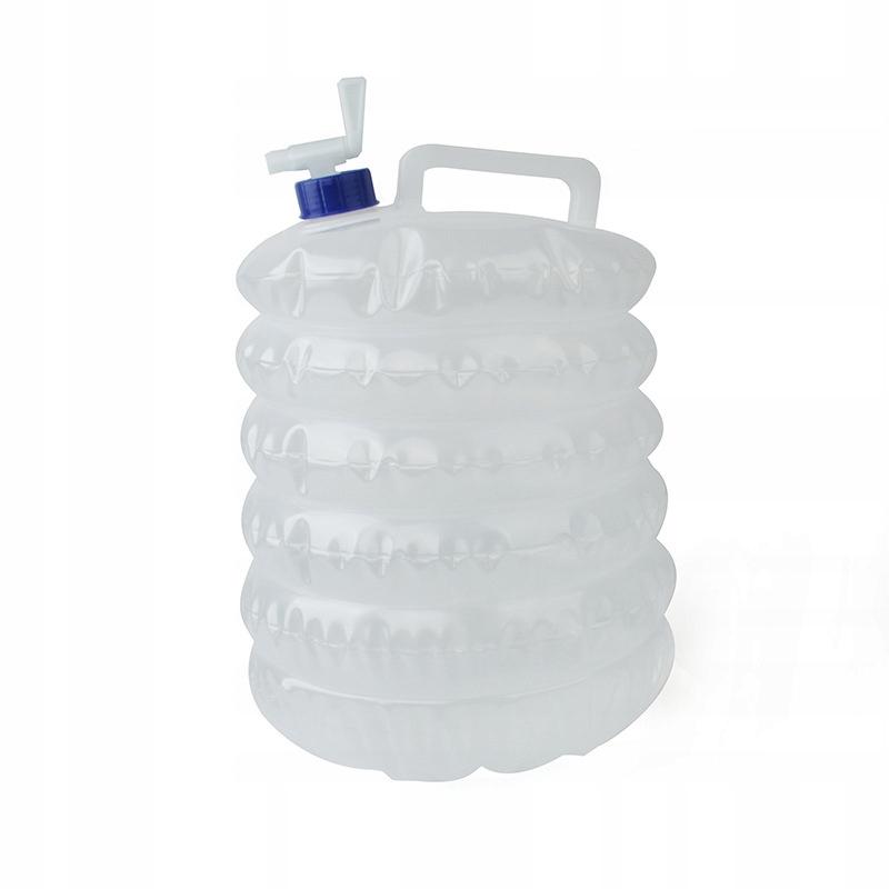 Pojemnik składany na wodę kranikiem 10L