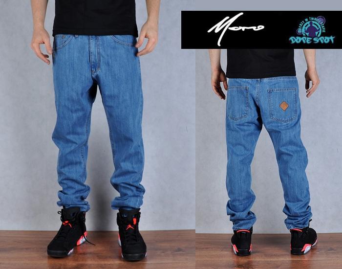 Spodnie L Moro Sport Laur Straight Jeans Lt