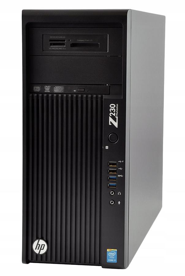 Komputer do Gier HP z230 i5 4 x 4,3Ghz 8GB WIN10