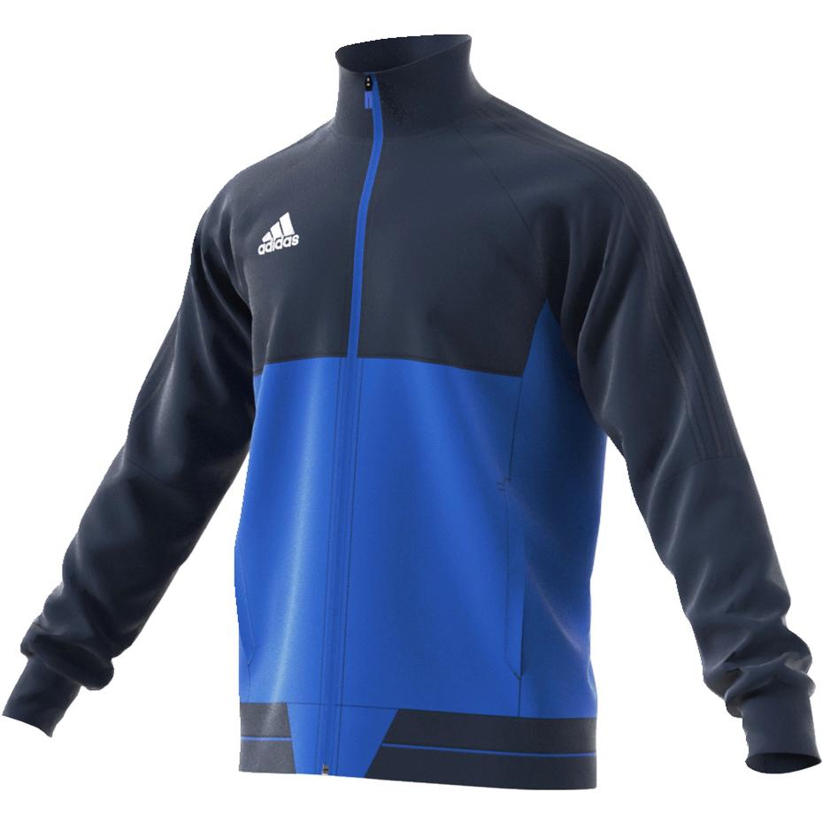 Bluza męska ADIDAS piłkarska rozpinana SPORTOWA L
